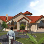 Family House 01 - Render gallery - architectural rendering