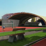 Football Academy 01 - Render gallery - architectural rendering
