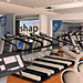 Fitness Center  006 - architectural rendering - animation